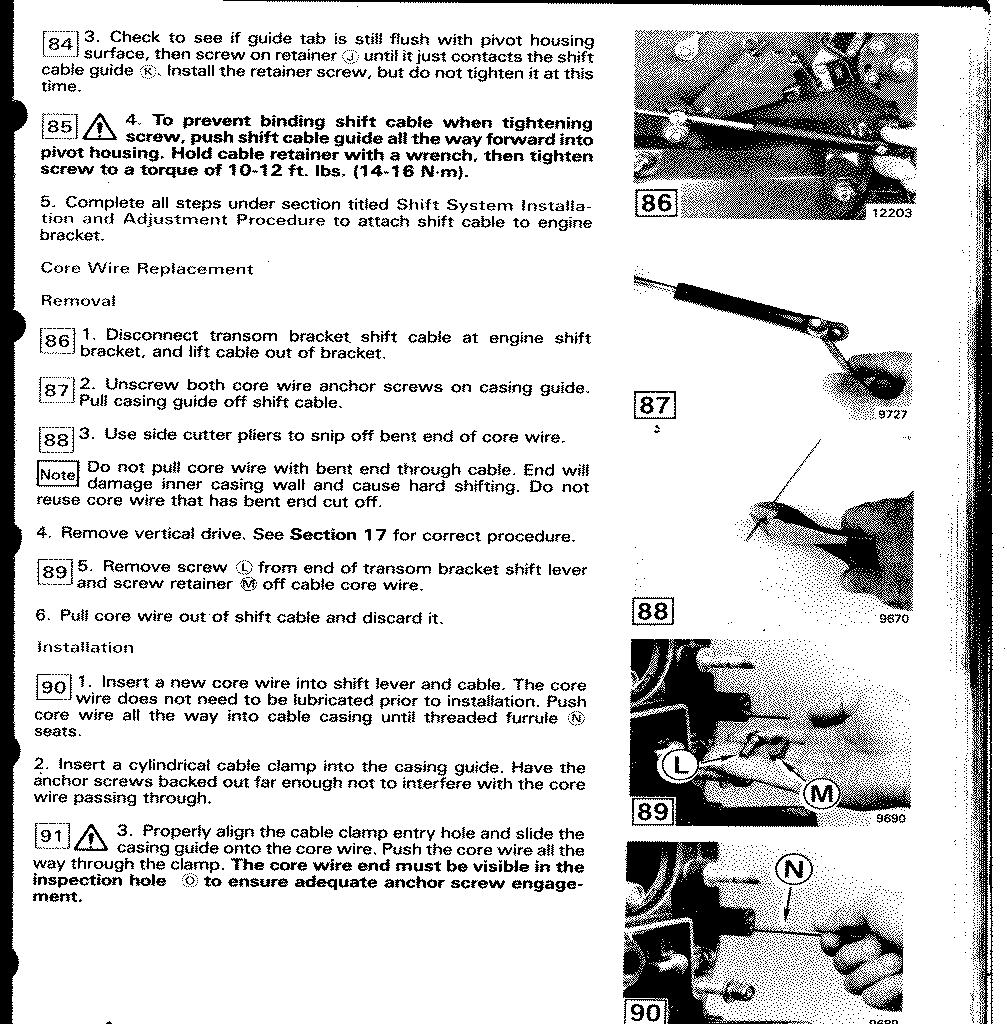 Omc Cobra Sterndrive Tech Info 260a Volvo Penta Engine Diagram 11 17 288k